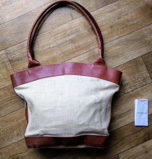 Tasche Leinen Leder Laurel