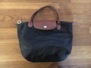 Longchamp Carry Bag black-bronze-colored