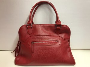 Longchamp Bolso barrel rojo