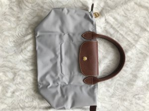Tasche Longchamp Le Pliage S hellgrau