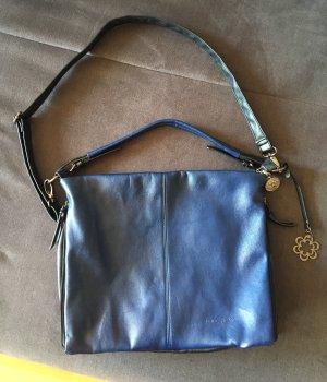 Marc Picard Shoulder Bag black-blue