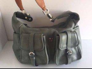 Tasche Mauve Leder mintgrün