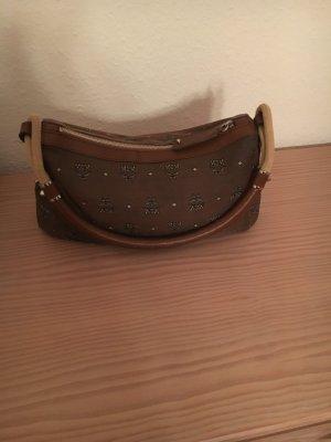 Tasche MCM Brown ( mit Buchstaben schwarz und Weiß )