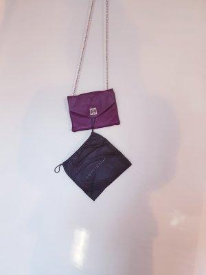 Tasche minibag von coccinelle lila burgunder