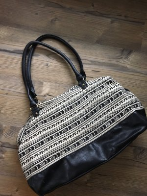 Primark Bowling Bag black-white