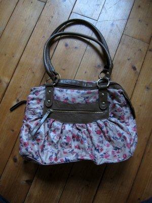Tasche mit Blumenmotiv