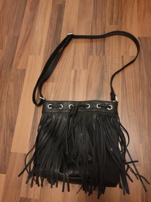 Bijou Brigitte Fringed Bag black
