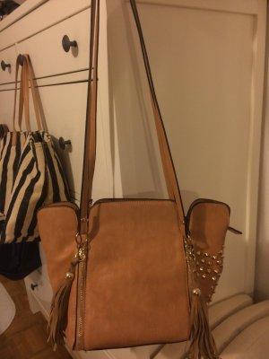 Handbag sand brown
