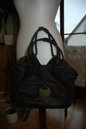 H&M Tote dark brown