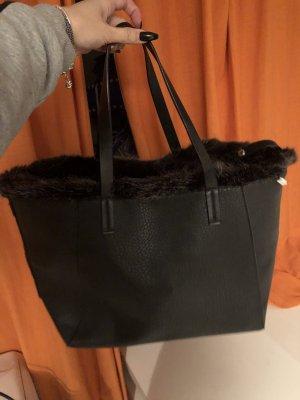 Tasche mit kunstfell