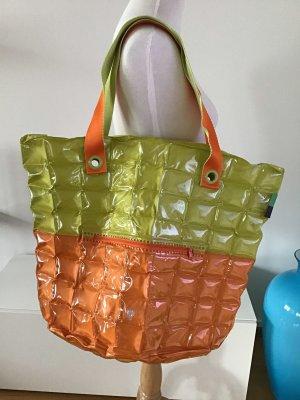 Shopper oranje-weidegroen