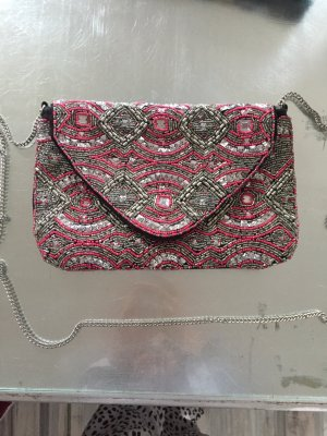 Atmosphere Borsa clutch argento