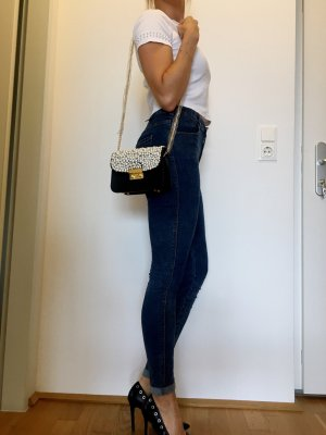 Mini Bag black-white