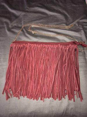 Tasche mit wildleder fransen