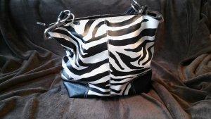 Tasche mit Zebramuster