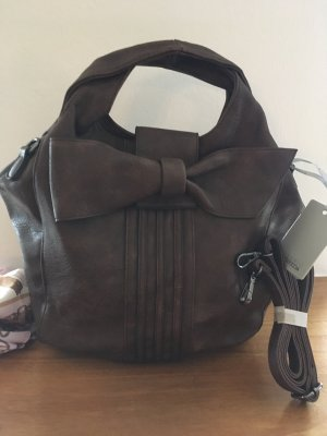 Risskio Pouch Bag dark brown