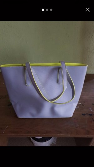 Carry Bag grey-neon green