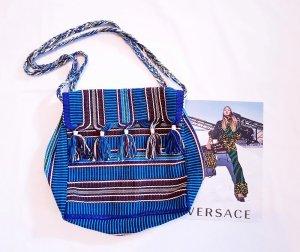 Tasche original Handarbeit aus Südamerika blau bunt neu