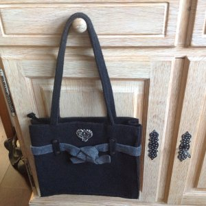Carry Bag taupe-black