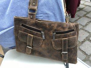 Tasche Pieces, LEDER, perfekter Zustand, NP 50€