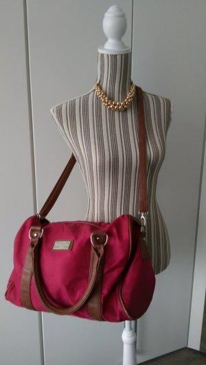 Tasche * pink * braun *