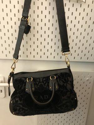 Prada Pouch Bag dark brown-black