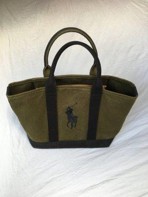 Tasche Ralph Lauren Khaki schwarz