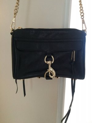 Tasche Rebecca Minkoff Mini Mac Black Gold