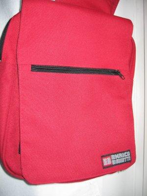 Tasche Rucksack Querträgerrucksack rot ENRICO BENETTI