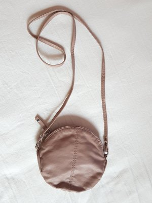 Tasche Rund Puder Rosa H&M