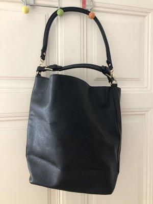 Mango Shoulder Bag black-gold-colored