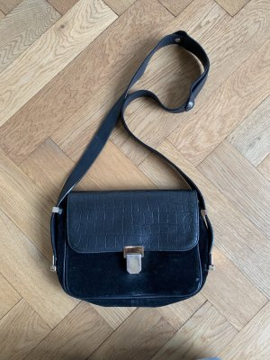 Tasche schwarz mit schnalle Sandro
