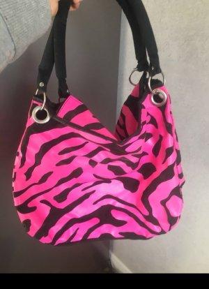 Tasche Schwarz- Pink