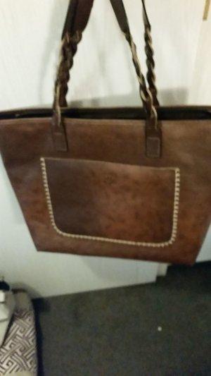 Tasche Shopper braun dunkelbraun