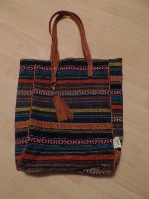 Tasche, Shopper im Aztekendesign