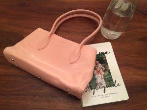 Tasche Tote Henkeltasche rosa rose Leder von Furla NEU
