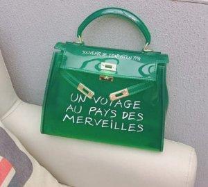 Tasche Transparent Umhängetasche un voyage au pays des  merveilles
