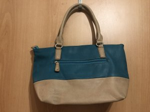 David Jones Handbag beige-petrol