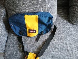 Tasche, Umhängetasche, Eastpak, blau gelb