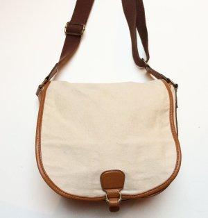 Tasche | Umhängetasche | H&M | creme | braun