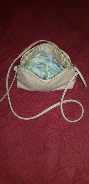 Tasche/Umhängetasche in Beige