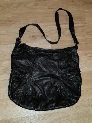 Tasche/ Umhängetasche, schwarz