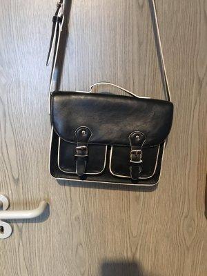Tasche | Umhängetasche | Zalando | even&odd | Riementasche | Magnetverschluss | Schwarz-Weiß