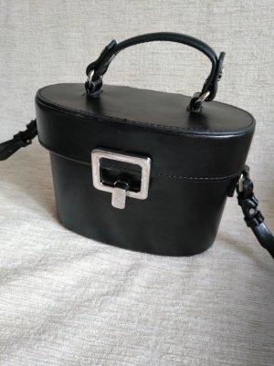 Zara Bolso negro poliamida