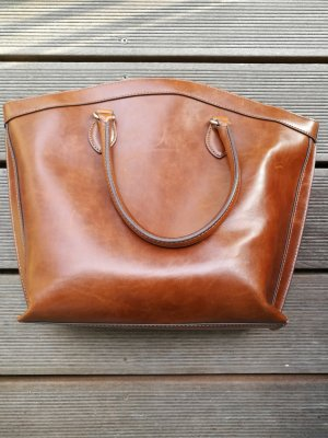 Adolfo Dominguez Handbag cognac-coloured