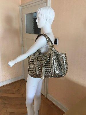 Anya hindmarch Handbag gold-colored leather