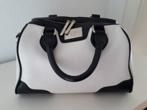 Belmondo Bag black-white imitation leather