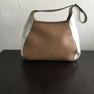 Bernd Berger Shoulder Bag white-light brown