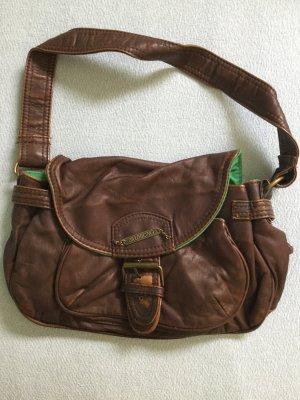 Billabong Handbag dark brown-brown imitation leather