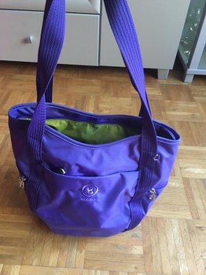 Tasche von Bogner, lila, Nylon